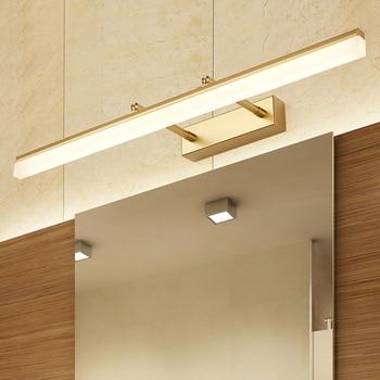 LED Wall light Bathroom Mirror Lamp warm white /white washroom wall Lamp fixtures acrylic 9W 40CM/ 12W 50CM makeup mirror light 2