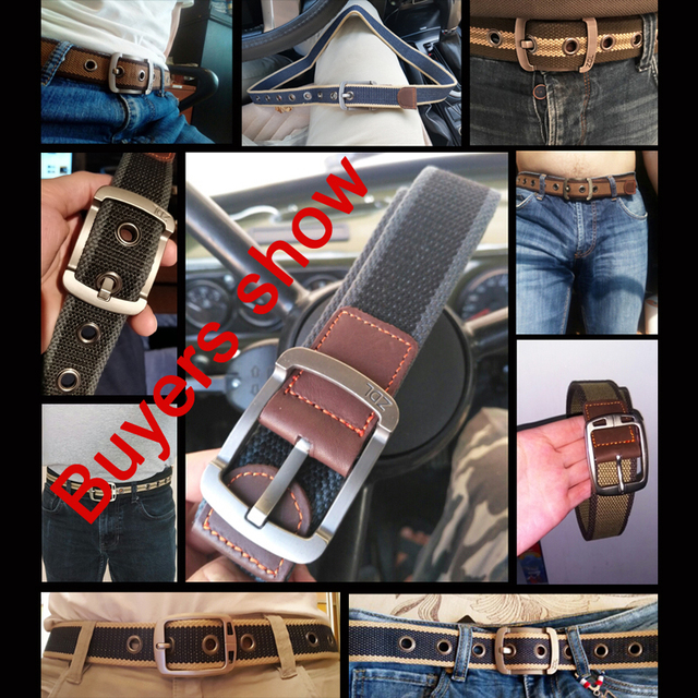 High Quality Canvas Belt 10