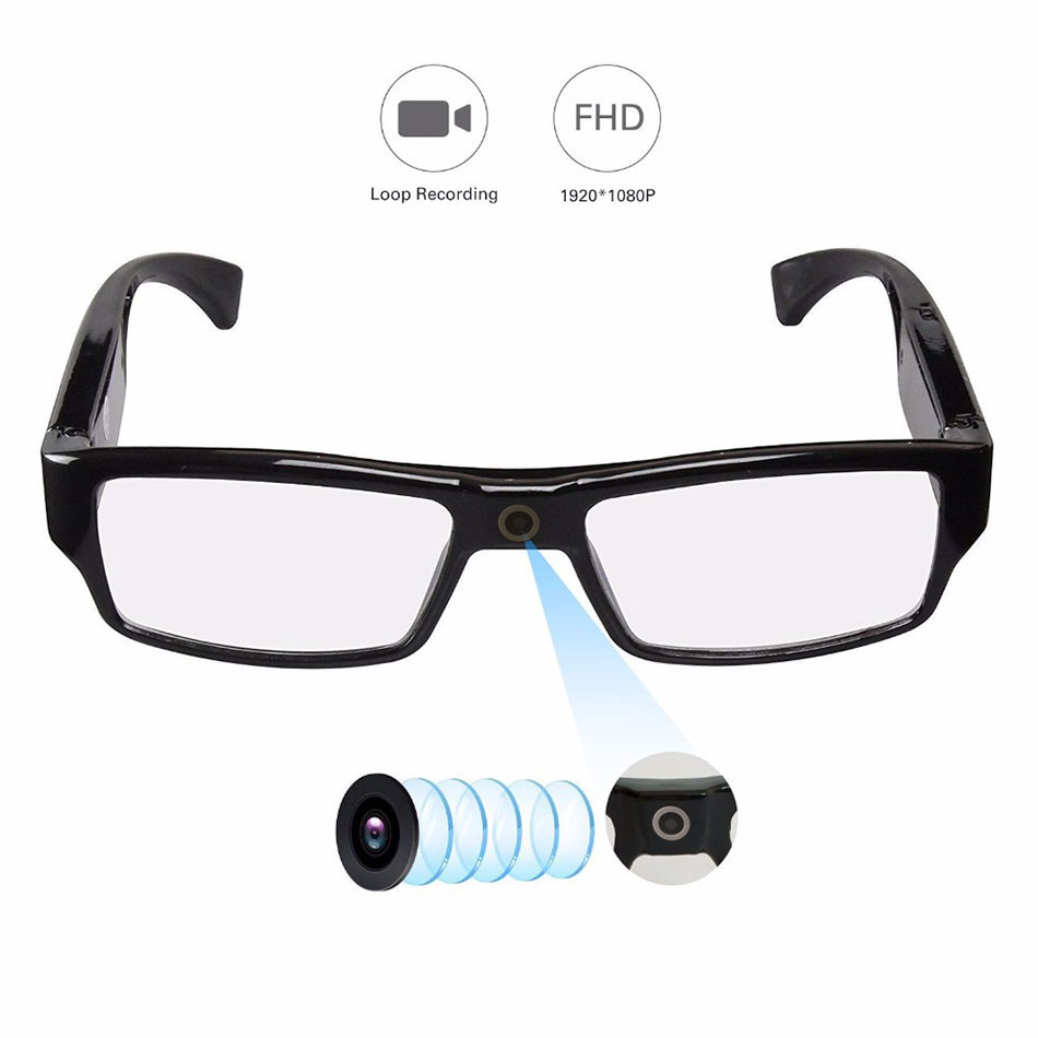 Outdoor Sport Wear Camera DV Recorder HD1080P Video Camcorder Eyewear Universal Glasses For Men And Women