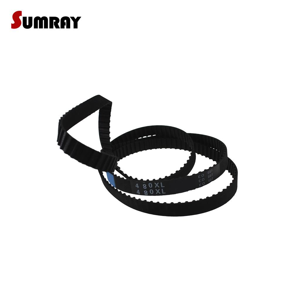 XL 390//392//396//400//412 XL Black Timing Synchronous Belt 5.08mm Pitch 10mm Width