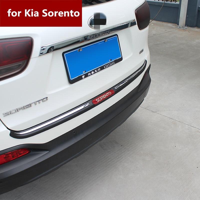 Sorento Защитная панель багажника Модифицированная внутренняя защитная пластина для Kia Sorento L 2015-2019 специальная для украшения интерьера