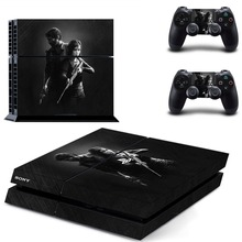 Game The Last of Us PS4 Skin Sticker Decal Vinyl for Sony Playstation 4 Console and 2 Controllers PS4 Skin Sticker