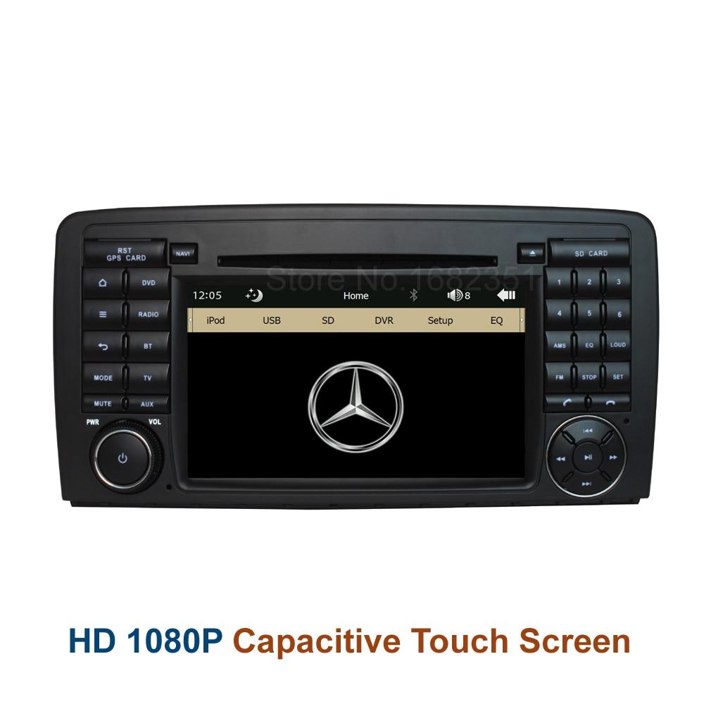 Original ui car dvd radio player gps for mercedes benz r for Mercedes benz truck radio code