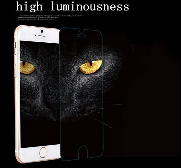 Wang cang li 5pcs tempered glass for iphone 4s 5 5s 6 6s plus 7 plus screen protective film protective film front cover + set 6