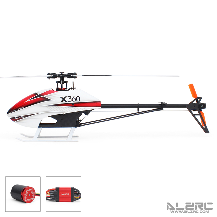 ALZRC - Devil X360 FBL Combo - 60A alzrc devil 500 rigid new body assembly