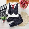2015 Spring New Baby Boy Long Sleeve t-shirt + pants suit boy Kids Clothing Set free shipping