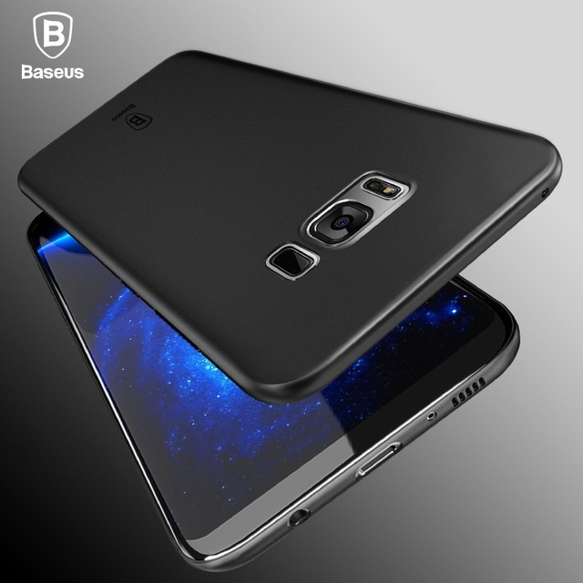 innovative design 14379 f13de US $10.29 |BASEUS Brand Wing Series Light PP Case For Samsung Galaxy S8  Plus / For Galaxy S8 Ultra Slim 0.4mm Frosted Phone Cover on Aliexpress.com  | ...
