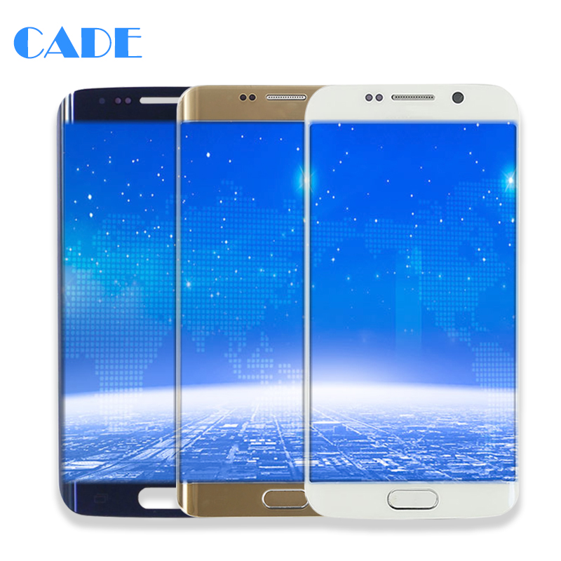 LCD Display For Samsung S6 G920 G920F Edge G925F G925I Touch Screen Panel Mobile Phone Lcds Digitizer Assembly Replacement Parts