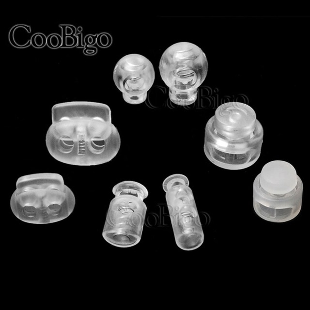 c60b155dd13b US $0.45 20% OFF|5pcs Plastic Ball Bean Cord Lock Stopper Cord End Toggle  Clip Transparent Clear Frost Shoelace Backpacks Parts Accessories-in  Stopper ...