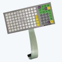 SEEBZ 英語版キーボードフィルムキー強化版メトラー · トレド 3610 3650 3950 スケール小売スケール