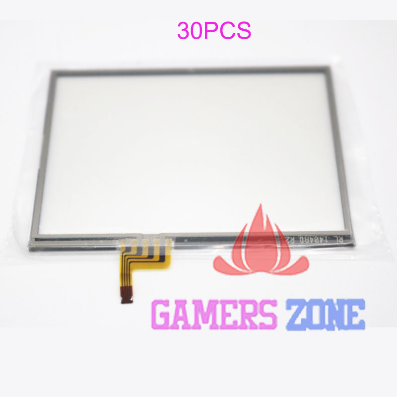 30PCS New Replacement For Nintendo 3DS Touch Touchscreen Digitizer Repair Part Glass