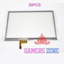30 sztuk nowy zamiennik dla konsoli Nintendo 3DS dotykowy ekran dotykowy Digitizer naprawa części szklane