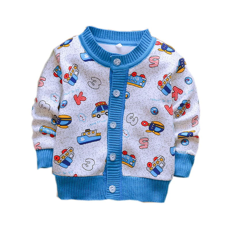 US Newborn Toddler Kids Baby Girls Boy Knitted Sweater Cardigans Coat Outerwear