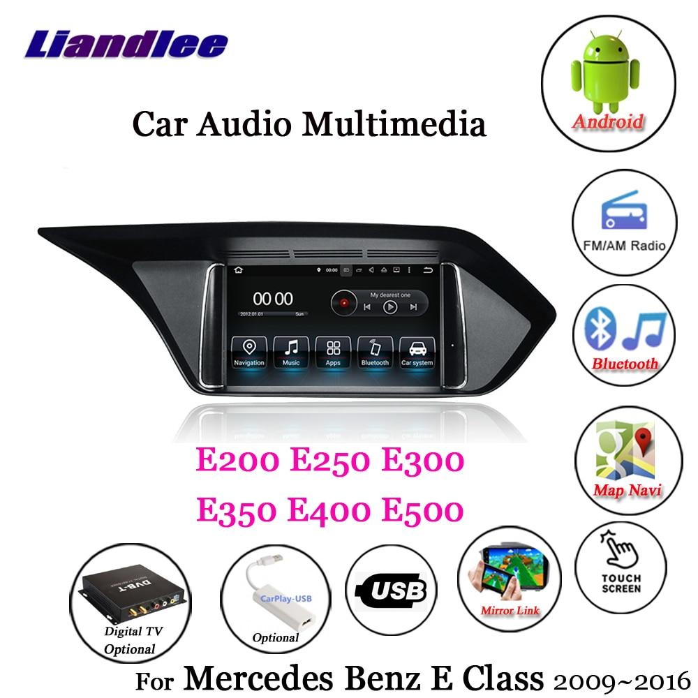 Liandlee Car Android 7.1 For Mercedes Benz E200 E250 E300 E350 E400 E500 Radio Carplay Camer TV GPS Navi Navigation MultimediaLiandlee Car Android 7.1 For Mercedes Benz E200 E250 E300 E350 E400 E500 Radio Carplay Camer TV GPS Navi Navigation Multimedia