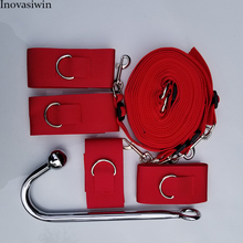 New Bdsm Bondage Sex Toys for Couples Slave Restraint Kit Handcuffs/Ankle Cuffs Adult Games