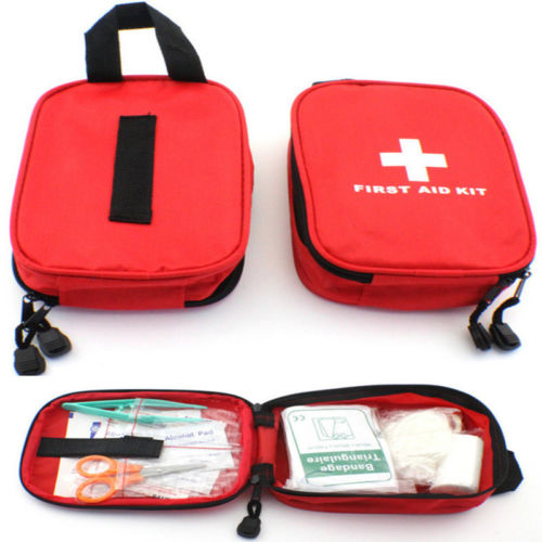 Useful Outdoor Home Emergency Medical Bag First Aid Pouch Bags Survival Pack Kit