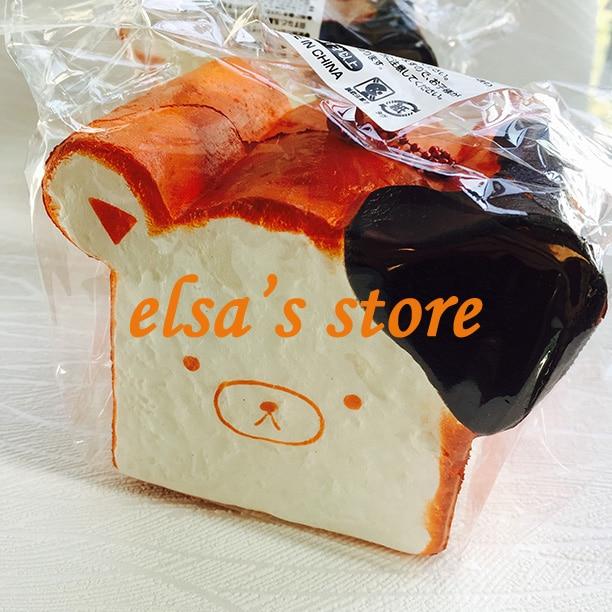 Free Shipping 5cm Original Kawaii Squishy Rilakkuma Macaron Cake Queeze Toys Cell Phone Handbags Straps Squishies Bread Advertising