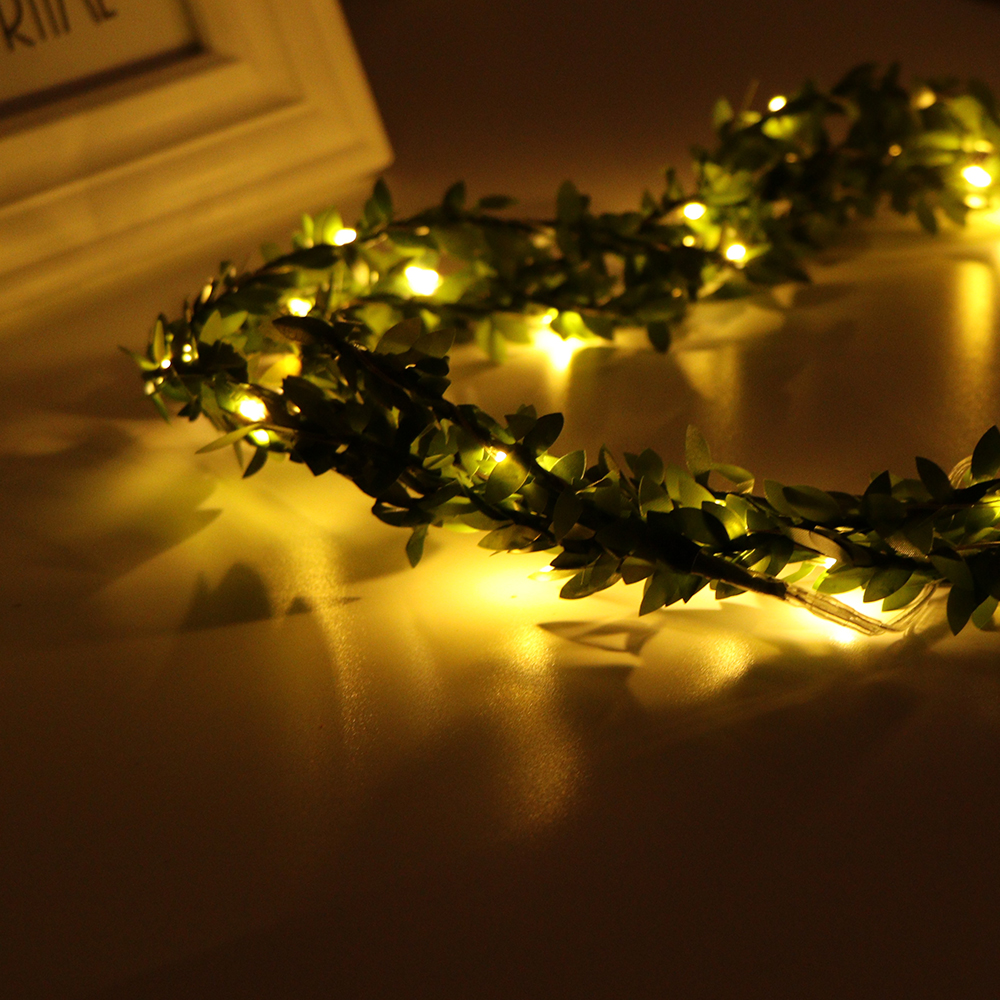 Warm White Battery Operated 3M 30 LED Xmas Tree Fairy Garden Party String Lights