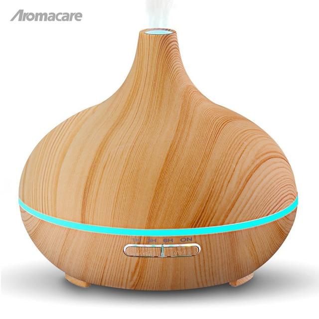Purificateur Aromathérapie Brumisateur Lampe Humidificateur D'air Led Ultrasons D'huile D'arôme À Diffuseur OPkZTuXi