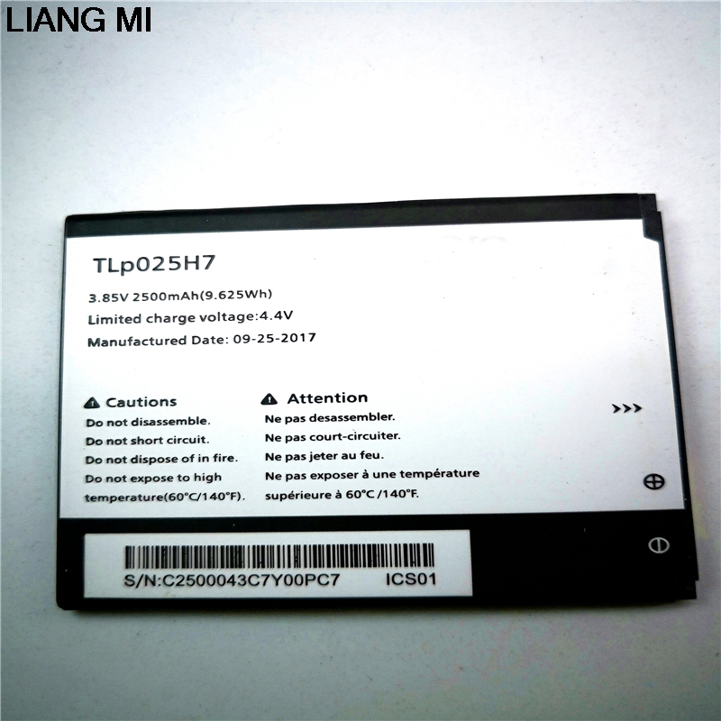 2500mAh TLp025H7 cell phone battery For Alcatel OneTouch POP 4 OT-5051X OT-5051D 5051X 5051D Battery with phone holder for gift