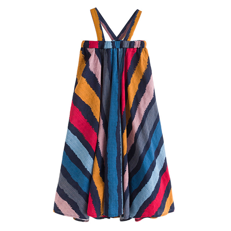 6 to 16 years kid & teenager girls summer colorful striped cotton casual flare dress children fashion sleeveless beach dresses6 to 16 years kid & teenager girls summer colorful striped cotton casual flare dress children fashion sleeveless beach dresses