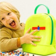 Childrens Enlightenment Small Particles Building Blocks Assembled Toys Diy Bag Storage Boy Children Multi-function