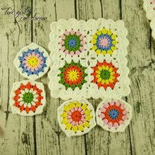 DIY Handmade Crochet Table Mats Hand Lace Doilies Decoration Accessories Coaster Wedding Gift 9-20cm 20pcs/lot