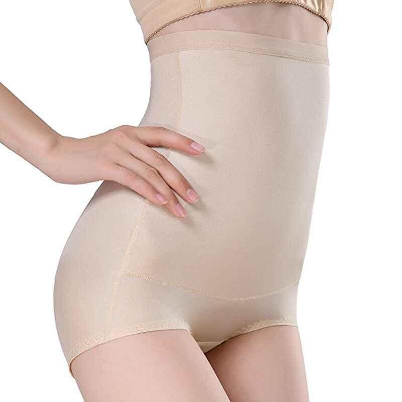 b79c57b29 ... Women High Waist Body Shaper Seamless Control Pants Tummy Belly Waist  Slimming Pants Butt Lifter Panties ...