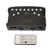New Led DMX Master Controller IR Wireless Remote 1024 Channel RGB led strip Controller Mini USB XLR 3 port 4000 steps