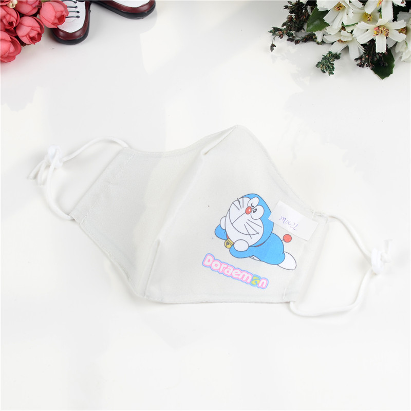 10pcs/Bags Summer New Cartoon Duo A Dream Children Mask Dustproof Thin Section Sunscreen Breathable Masks Wholesale