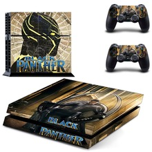 Black Panther PS4 Skin Sticker for Sony PS4 PlayStation 4 and 2 controller skins