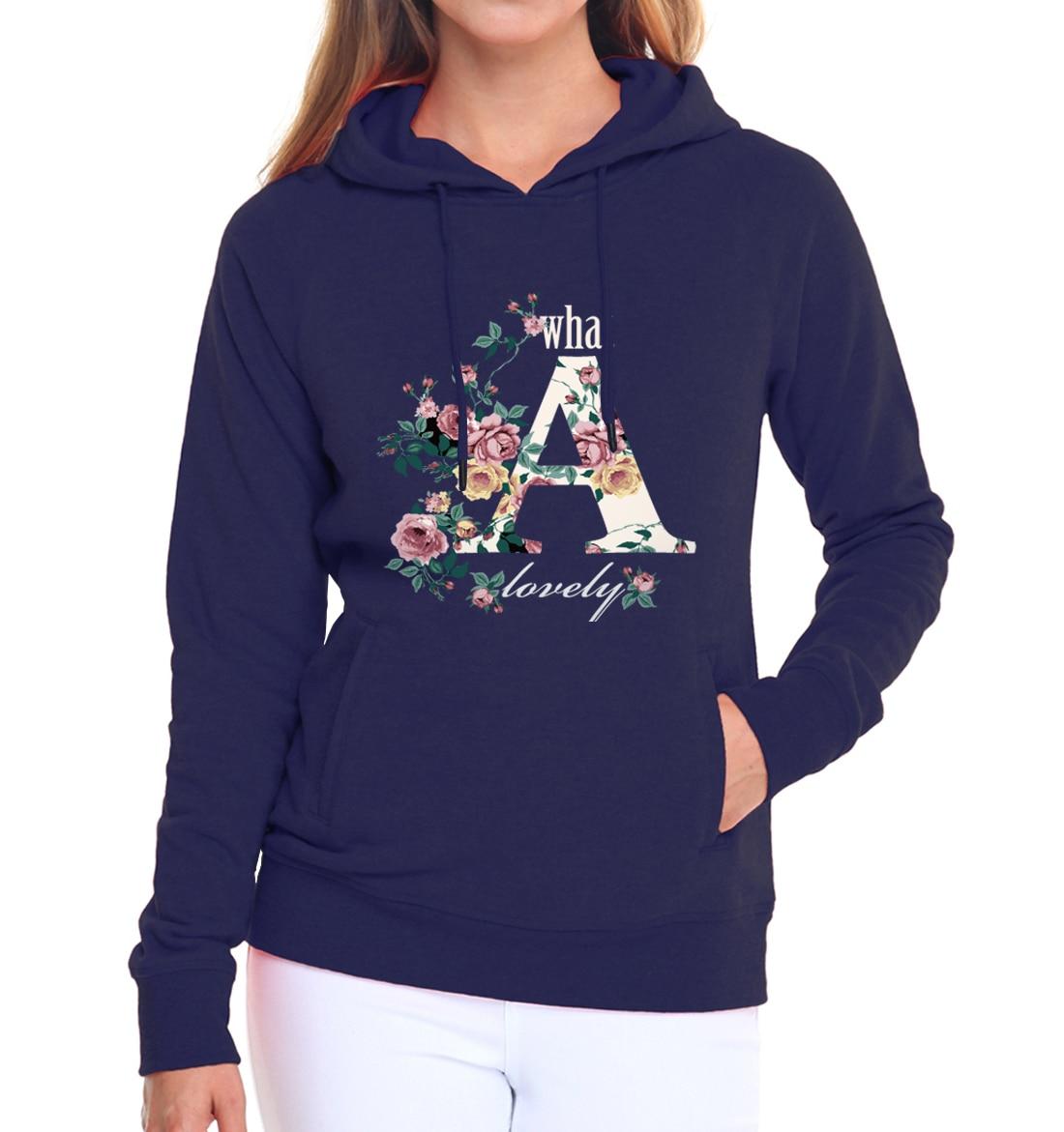 2019 autumn winter flower rose hoodies women hipster true love long sleeve sweatshirts casual fleece kpop tracksuits pink hooded