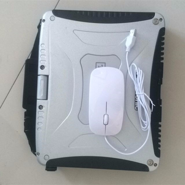CF19 Toughbook with mouse