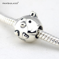 Pandulaso Chicken Vintage Silver Beads For Jewelry Making Fit Charms Silver 925 Original Bracelets Farm Charm
