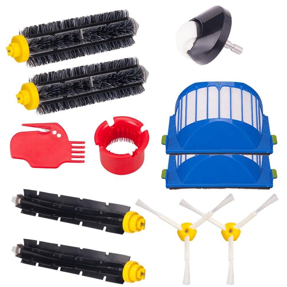 Lado cepillo 3 armados reemplazo para iRobot Roomba 500 de 600 de la serie 550 de 595, 610, 620, 630, 650, 670 aspiradora Robot accesorio