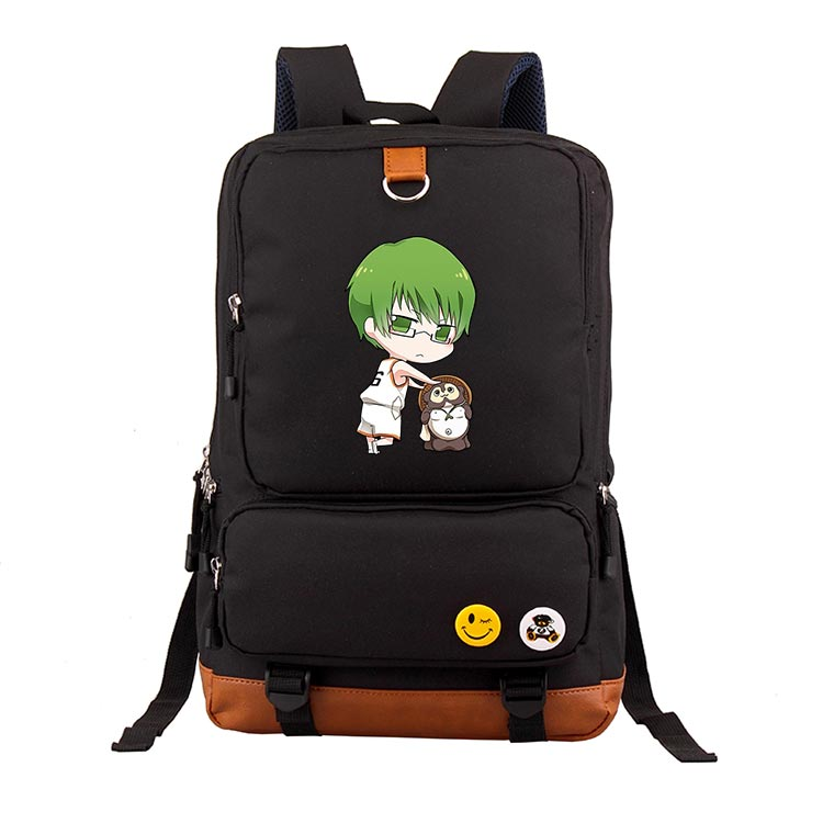 Anime Kurokos basketball COSPLAY Casual fashion male and female students schoolbag travel backpack