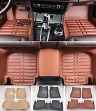 Custom fit автомобиля Коврики спереди и сзади Водонепроницаемый для Suzuki SX4 3D любых погодных автомобиль-Стайлинг Ковры коврики вкладыши