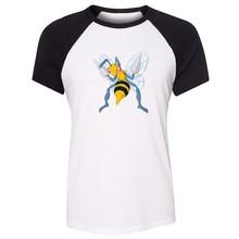 8f97407e Pokemon Beedrill caterpie Chansey Ditto Dragonite Womens Ladies Short  Sleeve Printing T shirt Graphic Tee Shirt Cotton Tshirts