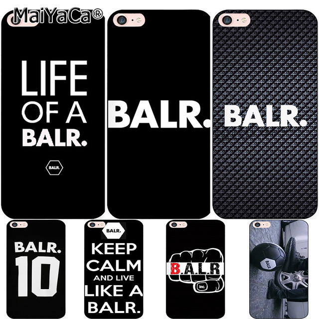 new product 5f01a 34b03 US $1.88 25% OFF|MaiYaCa For iphone 7 6 X Case LIFE OF A BALR. BALR Design  Soft Silicone Coque Phone Case Cover for iphone 7 6 6S 8 Plus 5 Se X -in ...