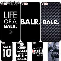 MaiYaCa pour iphone 7 6 X coque durée de vie d'un BALR. Coque housse de téléphone en Silicone souple Design BALR pour iphone 7 6 6 S 8 Plus 5 Se X