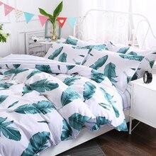Многоцветный хлопок простой 3/4 шт. Beding наборы односпальные кровати двуспальные кровати King size RUIYEE постельные принадлежности Стёганое одеяло титульный лист наборы наволочек