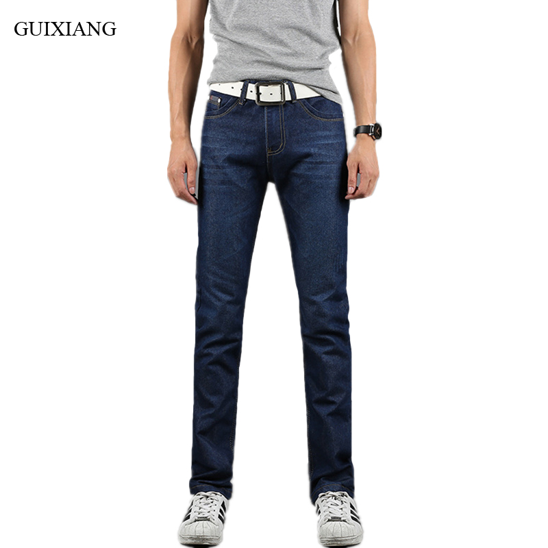 New Arrival Seasons Style Men Leisure Denim Jeans High Quality Business Classic Elastic Cotton Jeans Fit Straight Jeans 28-38