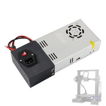Ender 3 AC110/220V DC24V 15A Meanwell Power Supply Aluminum switch For Creality 3D Ender-3 Pro Ender-5 CR-X 3D Printer parts