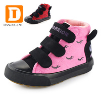 New 2017 Winter Rabbit Girls Boots Fashion Kids Boots Children Shoes For Girls Flock Leather Warm
