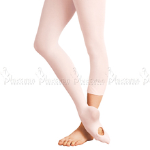 Convertible Ballet Tights Pink Quality Dance Leggings For Adults Spandex Soft Microfiber Girls Stocking