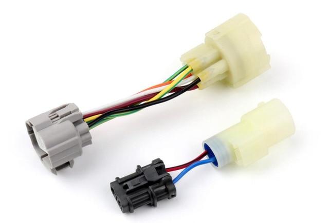 areyourshop car for honda civic integra obd0 to obd1 distributor adaptor  harness jumper ef da high quality car styling cable