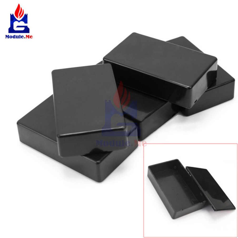 5 قطع البلاستيك الإلكترونية علبة توزيع إلكترونيات قذيفة حالة الضميمة أداة حالة 100x60x25 ملليمتر 10x6x2.5 سنتيمتر