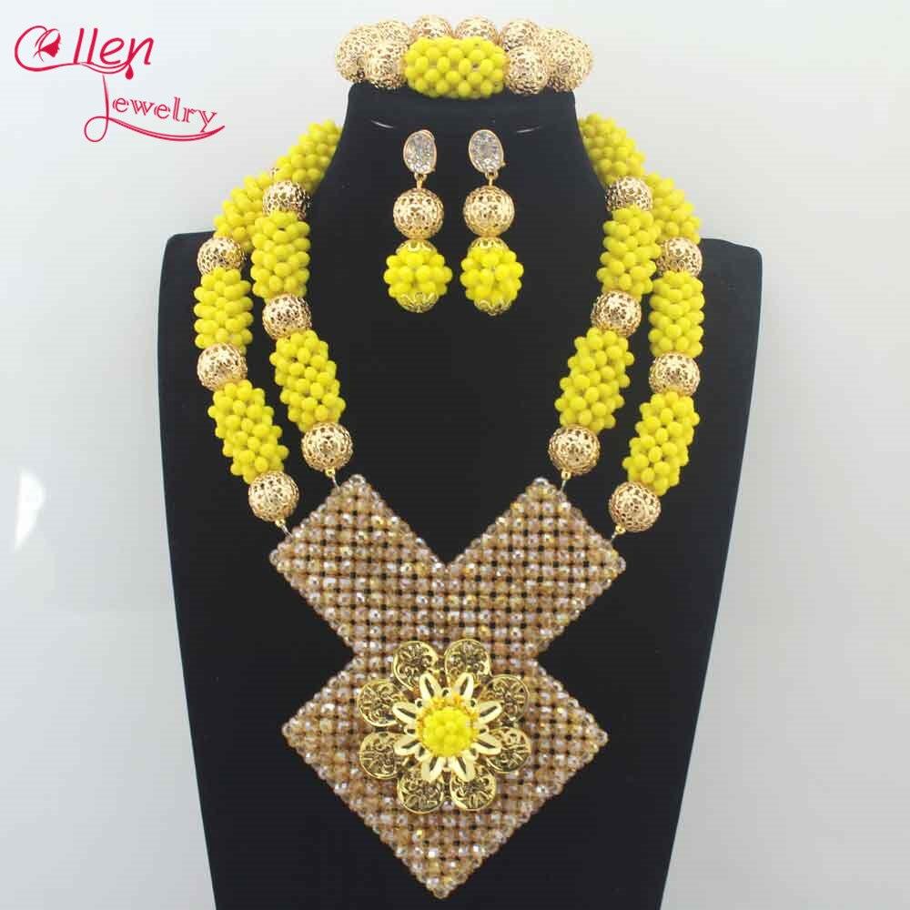 Aliexpress.com : Buy Latest African Wedding Nigerian Beads Jewelry ...