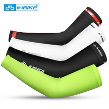 INBIKE Summer Ice Fabric Arm Sleeves UV Protection Running Camping Basketball Elbow Pad Sport Cycling Sleeves Sports Safety Gear(China)