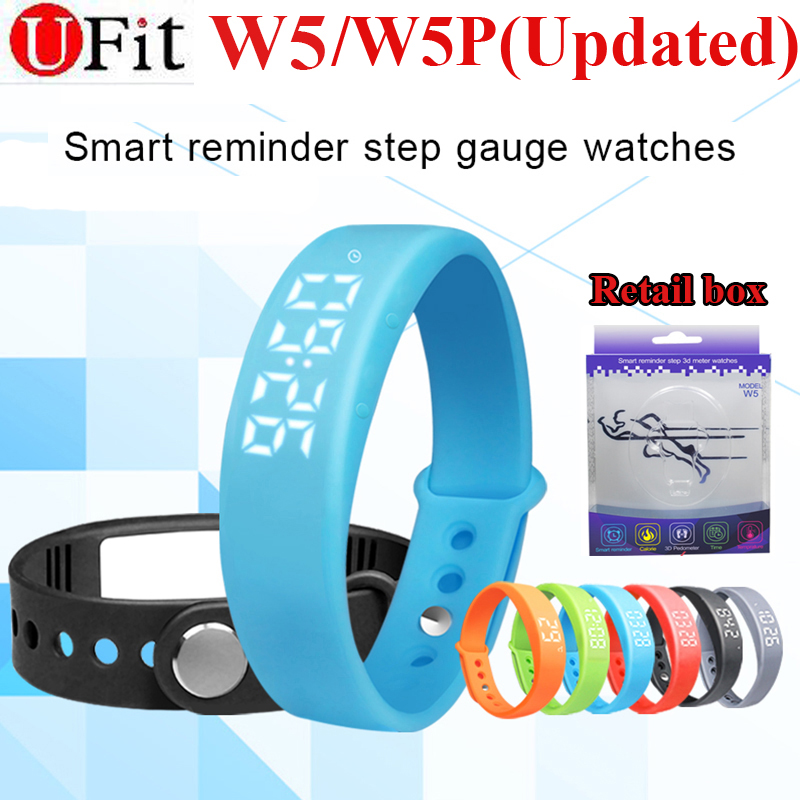 Box Activity Tracker Intelligent Band W5P font b Smart b font Bracelet Wristband Support Pedometer Sleep
